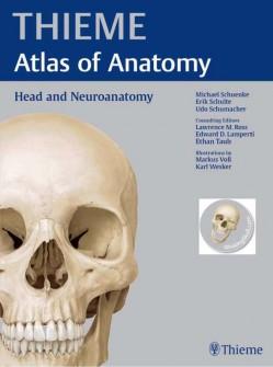 اطلس آناتومی سر و نوروآناتومی  Thieme (این اطلس بهترین اطلس آناتومی موجود میباشد )